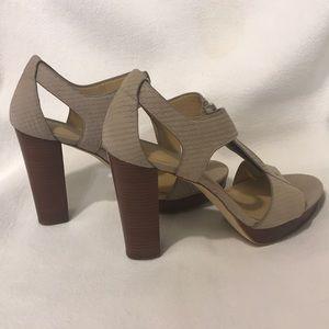 Michael Kors Suede Sandal Heel 6.5